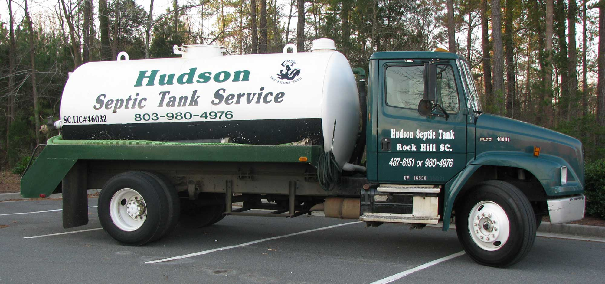 Septic Tank Cleaning & Pumping